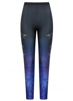 Shadow Gothic Plus Size Leggings