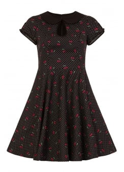Sophie Retro Plus Size Mid Dress