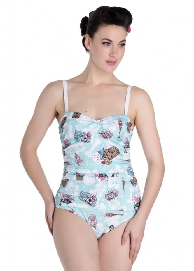 Hell Bunny Suki Swimsuit