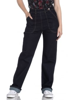 Weston Retro Denim Trousers