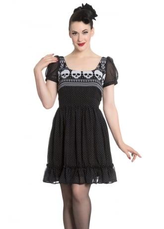 Hell Bunny Yule Mini Dress