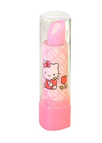Hello Kitty Lipstick Eraser