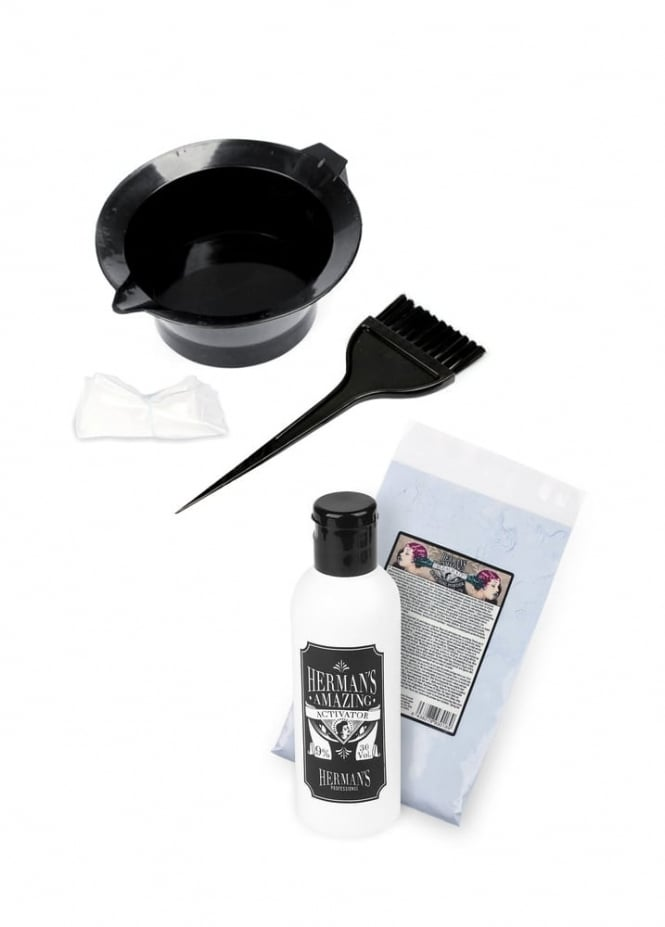 Herman's Amazing Direct Hair Color Bleach Kit