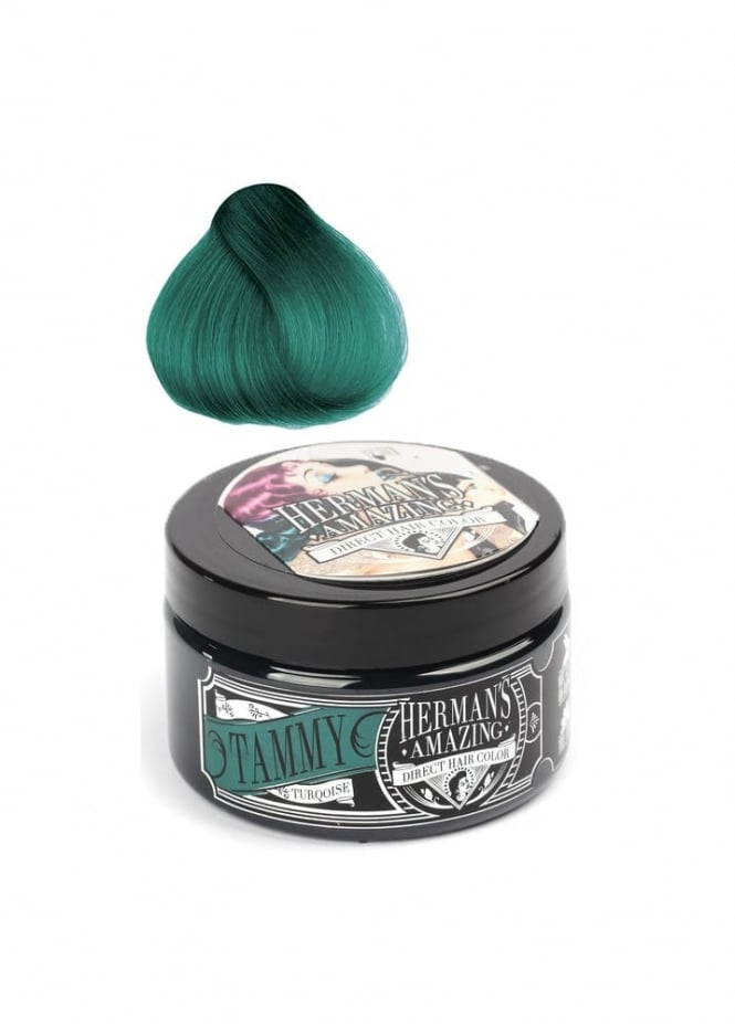 Herman's Amazing Direct Hair Color Tammy Turquoise