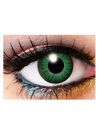 Innovision Lens One Day Electro Green Cosmetic Lenses