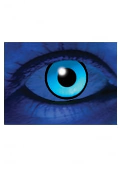 One Day UV Blue Cosmetic Lenses