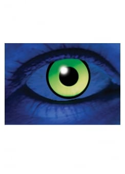 One Day UV Green Cosmetic Lenses