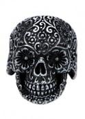 Inox Jewelry Sugar Skull Ring