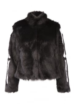 Bone In Fur Jacket