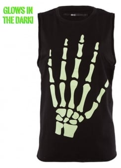 Fingers To The Bone Muscle Tank