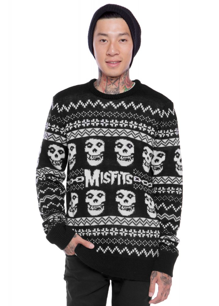 Iron Fist Merry Misfits Unisex Sweater | Attitude Clothing