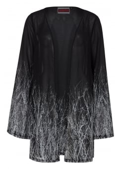 Branches Gothic Crepe Jacket