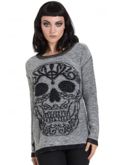 Celtic Skull Sweater