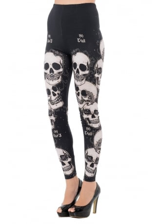 Jawbreaker Clothing Do No Evil Gothic Leggings