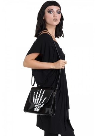 Jawbreaker Clothing Middle Finger Handbag