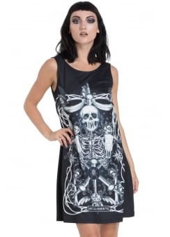 Muerte Tarot Gothic Dress