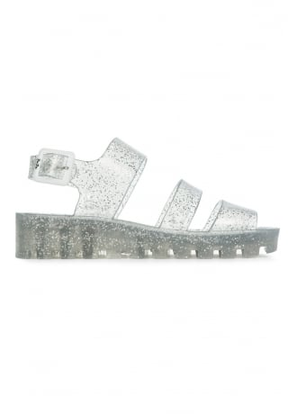 JuJu Multi Glitter Poppy Jelly Shoe