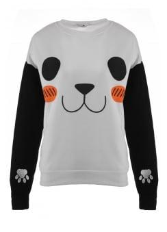 Kawaii Panda Crewneck