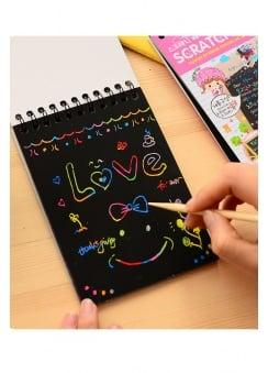 Kawaii Scratch Notebook
