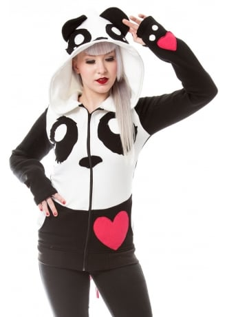 Killer Panda KP Cosplay Hood