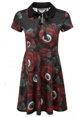 C U In Paradise Collar Dress
