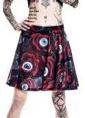 Killstar C U In Paradise Skater Skirt
