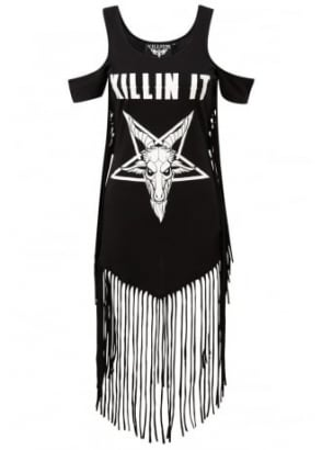 Killin' It On The Fringe Dress
