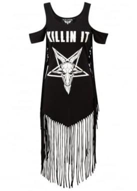 Killin' It On The Fringe Dress