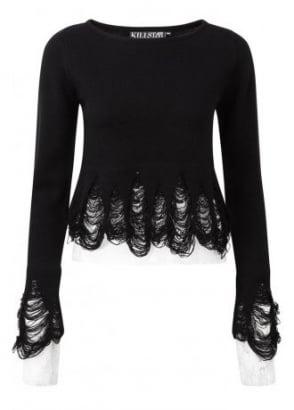 Lestat Crop Knit Sweater