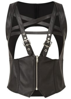 No Mercy Harness Top