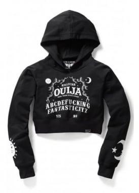 Ouija Crop Hoodie