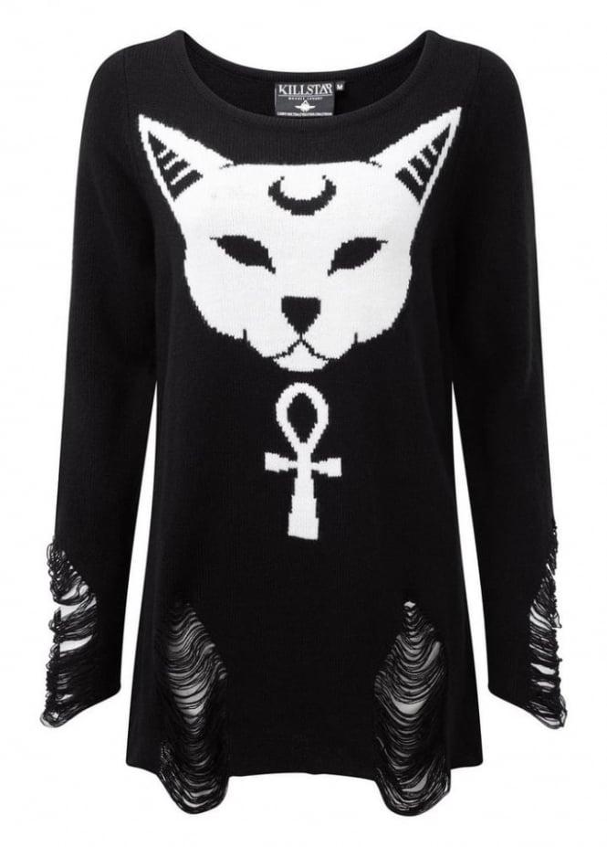 Killstar Purrfect Knit Sweater