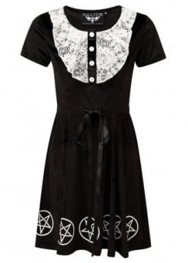 Quinn Velvet & Lace Dress