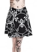 Killstar Sigil Skater Skirt