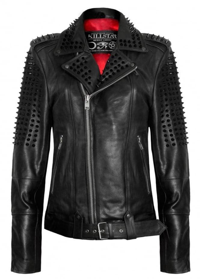 Killstar Switch Leather Jacket Attitude Clothing