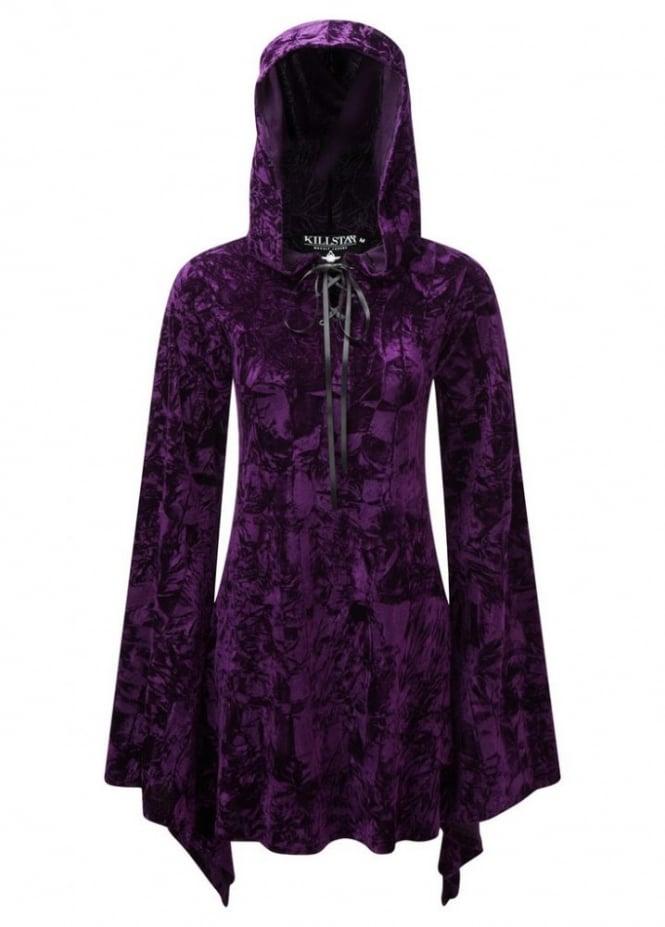 Killstar Velvet Witch Hood Dress