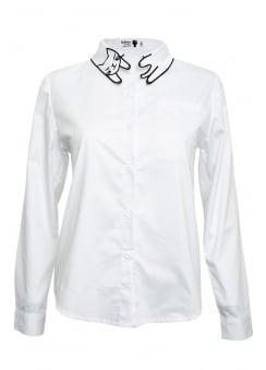 Kitty Collar Shirt