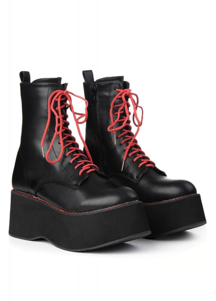Oracle Mega Platform Boots Attitude Clothing Other footwear brands and stores. oracle mega platform boots