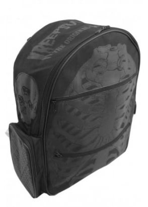 Black Ribcage Backpack
