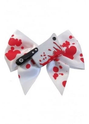 Bloody Cleaver Hair Bow