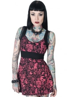Devil Made Me Do It Babydoll Dress