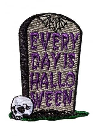 Kreepsville 666 Every Day Is Halloween Patch