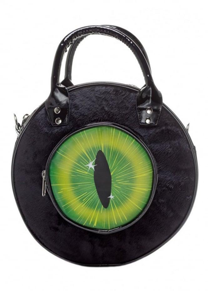 Kreepsville 666 Eyeball Black Cat Bag