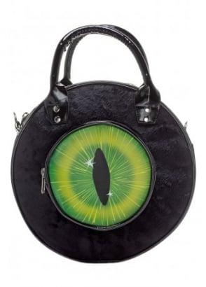 Eyeball Black Cat Bag