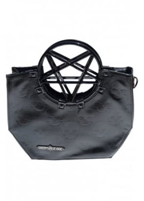Pentagram Handle Purse Bag
