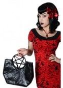 Kreepsville 666 Pentagram Handle Purse Bag