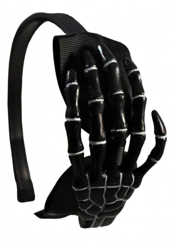Kreepsville 666 Skeleton Hand Alice Band