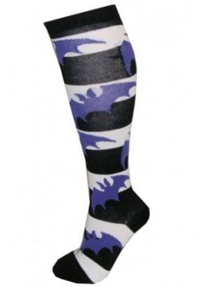 Stripey Bats Socks
