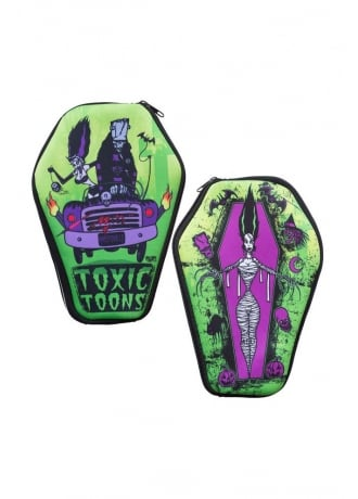 Kreepsville 666 Toxic Toons Coffin Pouch