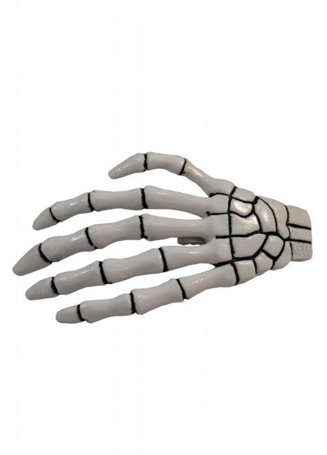 Kreepsville 666 XL Skeleton Bone Hand Hair Slide
